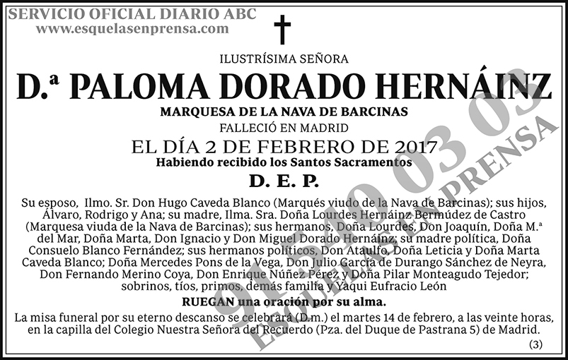 Paloma Dorado Hernáinz